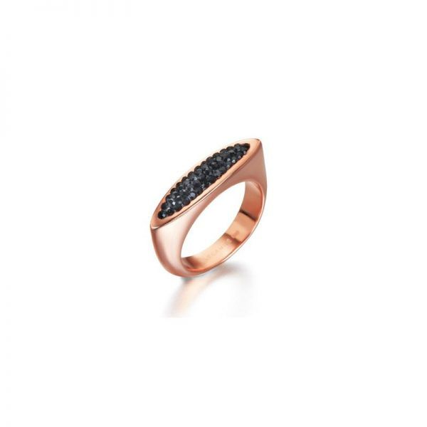 Anillo de plata LeCarré LA079NE Black Cocktail Ring