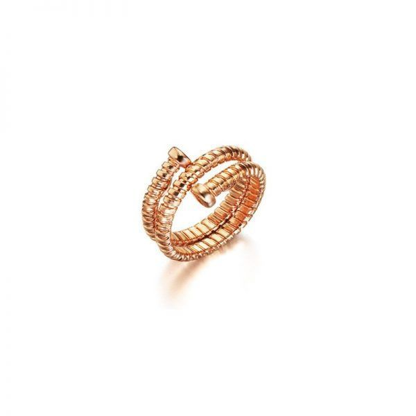 Anillo LeCarré LA065RS Tubogas Rose Gold Ring