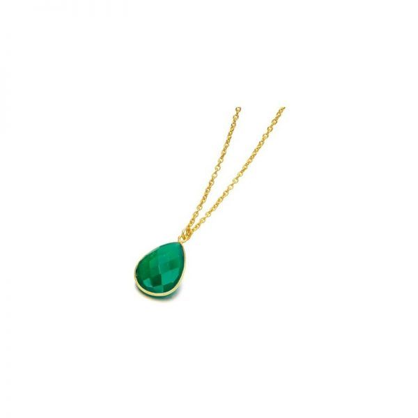 Colgante LeCarré LD037ES Goa Emerald Necklace