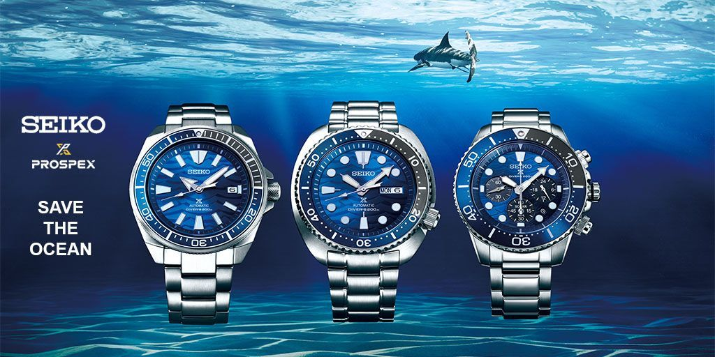 Portada Seiko Save the Ocean
